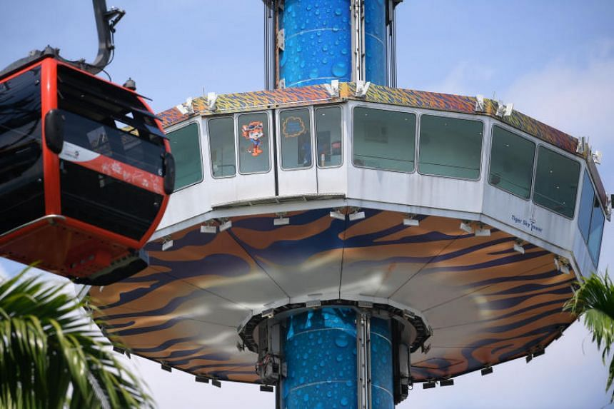Tiger Sky Tower opened in 2004 and has had nearly five million visitors.