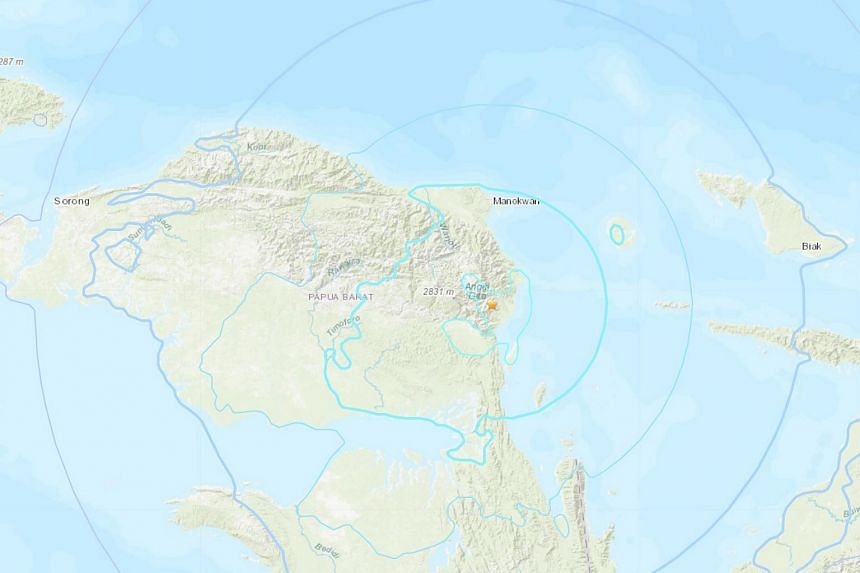 There were no immediate reports of casualties or damage following the earthquake in West Papua, Indonesia, Dec 28, 2018.