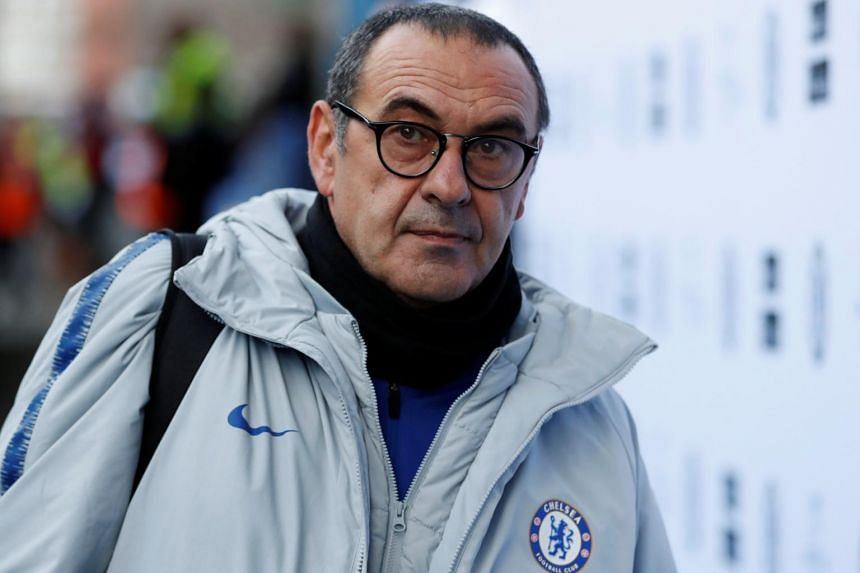 In every community, there are some stupids, said Chelsea manager Maurizio Sarri.