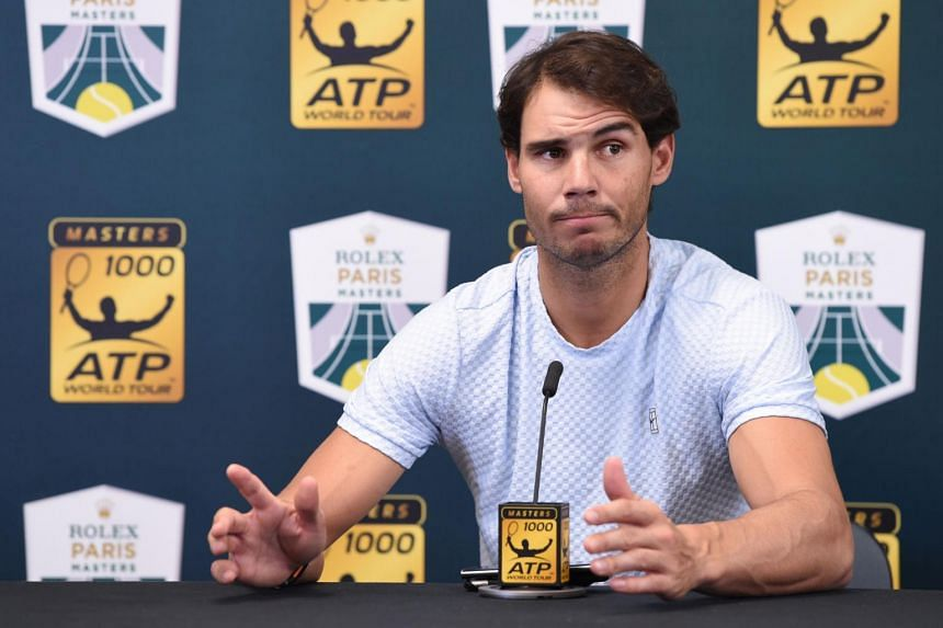Rafael Nadal underwent surgery on his ankle to remove an intra-articular loose body last month and resumed training only two weeks ago.