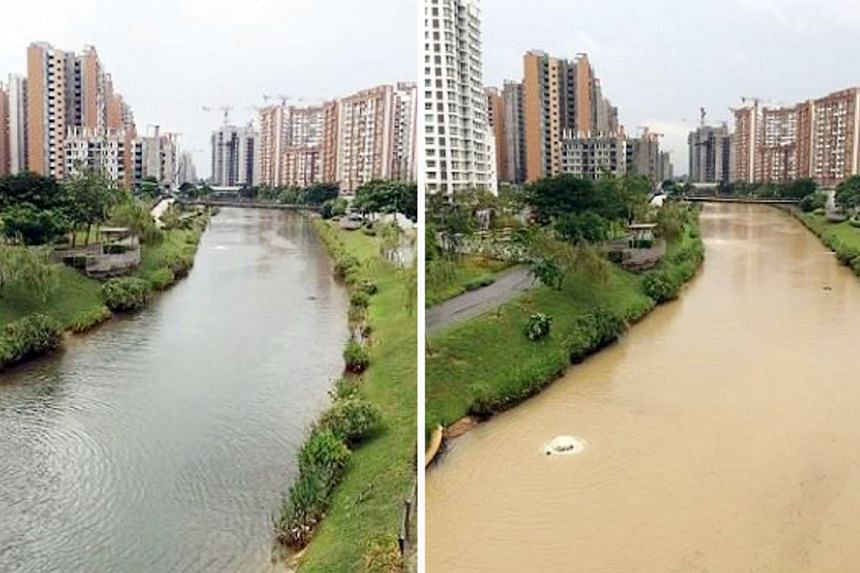 Earth control measures are implemented at construction sites to safeguard Singapore's water resources by ensuring that silt is not washed from exposed earth surfaces into the waterways after rain.