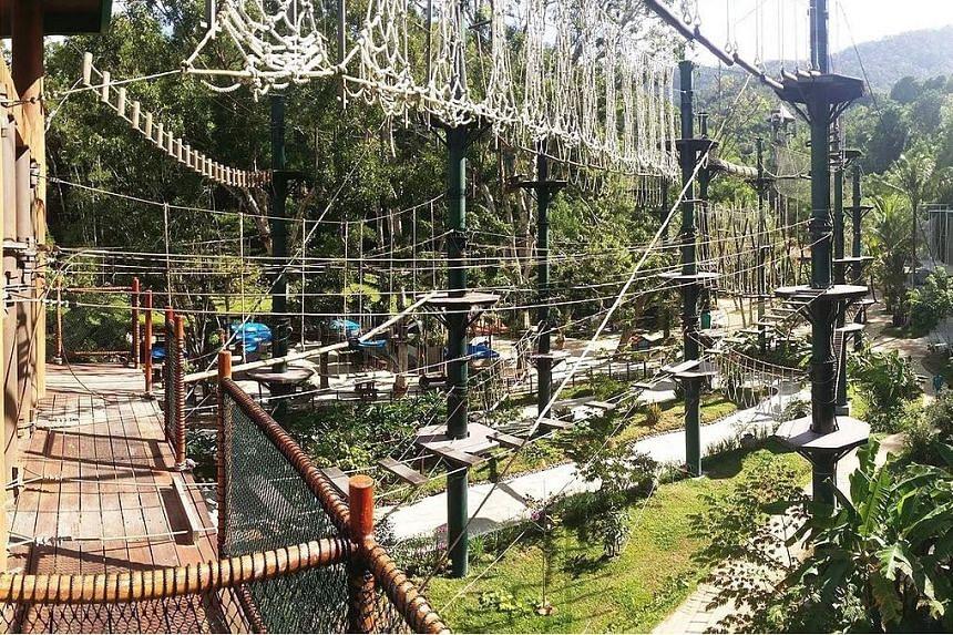 Sim Leisure Group's Escape Adventureplay theme park in Penang, Malaysia.