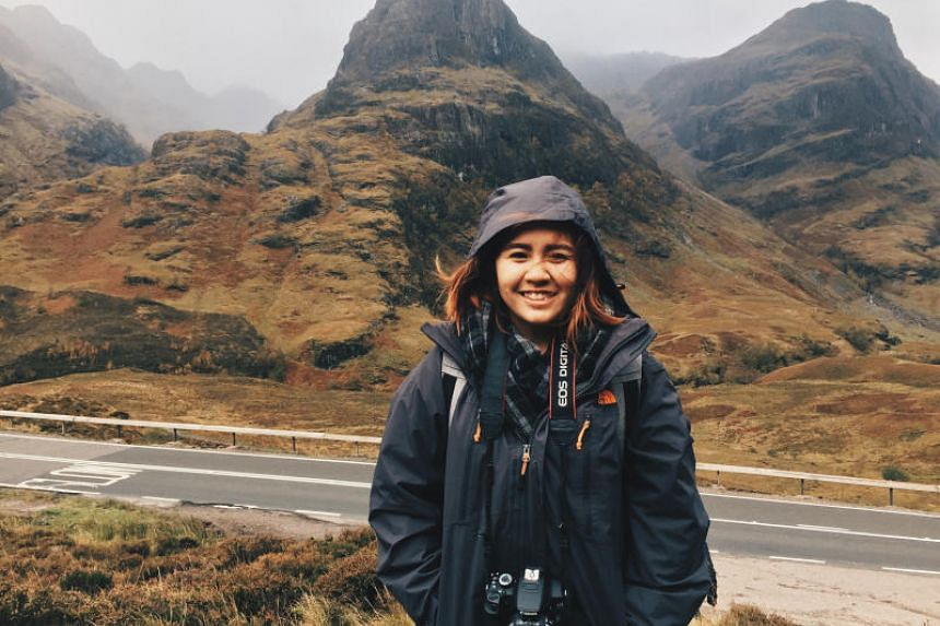 Undergraduate Teo Xin Yee had a week-long travel romance when she went to Scotland in 2017.