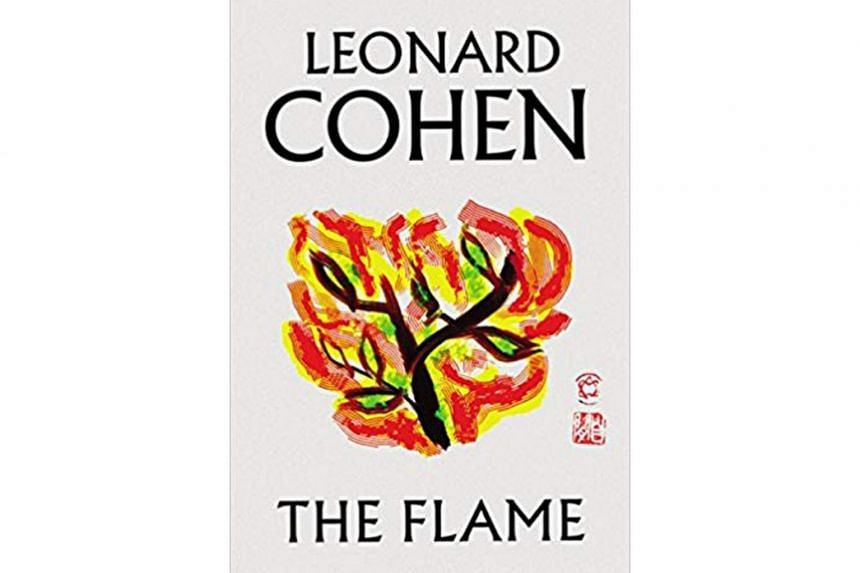 Leonard Cohen's last volume of poems, The Flame, is an ode to the power of words to seduce, probe and get under one's skin.