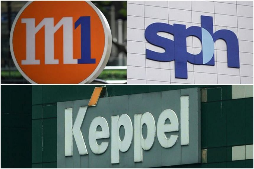 Currently, Keppel Corp owns 19.3 per cent of M1 through its subsidiary Keppel Telecommunications & Transportation, while Singapore Press Holdings has a 13.45 per cent stake.