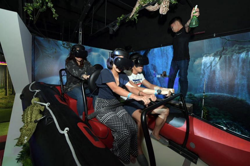 HeadRock VR, a new attraction at Resorts World Sentosa, is one of the biggest VR theme parks in South-east Asia.
