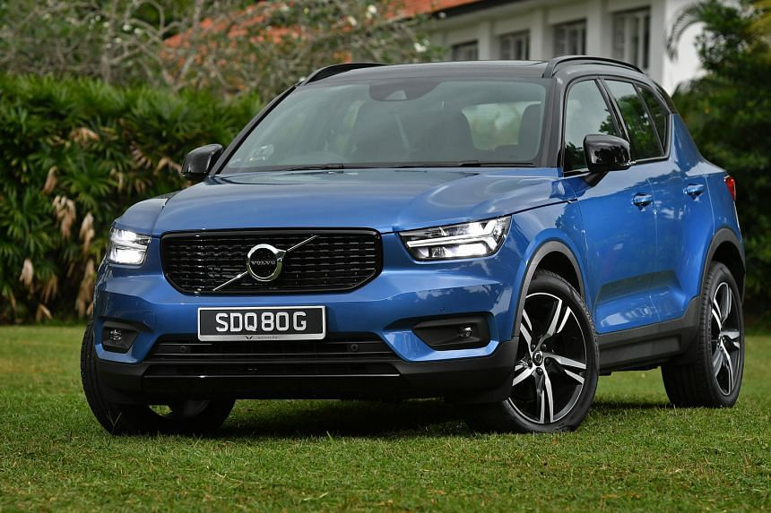 The Volvo XC40 came in seventh in the Straits Times Car of the Year ranking, out of about 50 new models launched during the year.