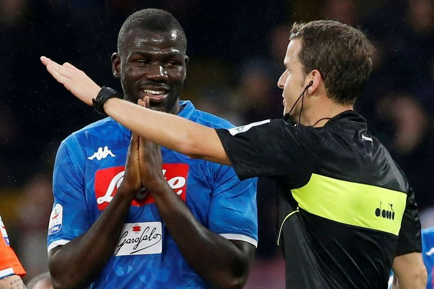 football uefa says anti racism protocol not followed in koulibaly