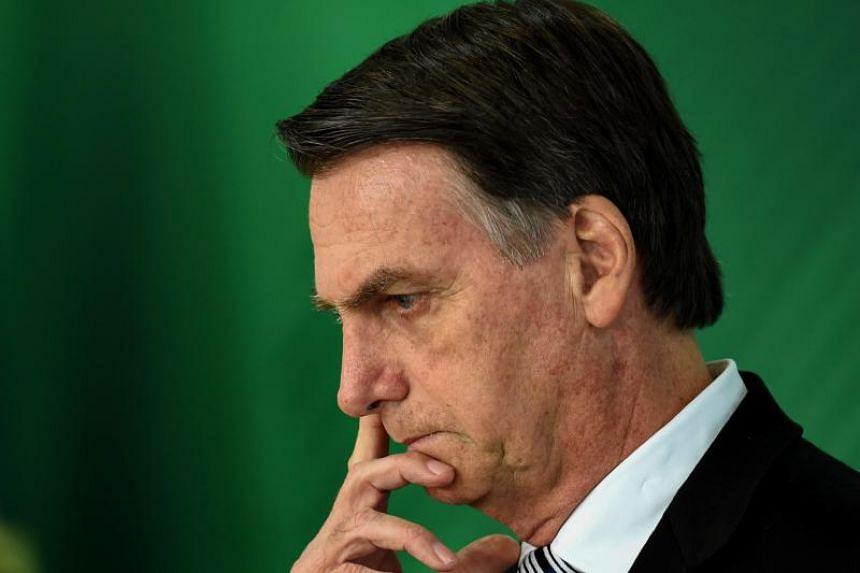 Throughout his campaign, Mr Jair Bolsonaro had pledged to dismantle Brazil's current gun legislation.