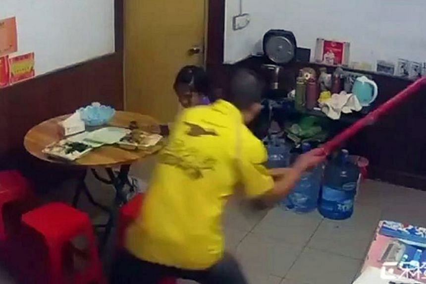 An edited clip posted online at the weekend shows a man in food delivery app Meituan's trademark yellow uniform, as well as a woman, repeatedly hitting their eight-year-old daughter.