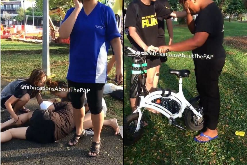 The boy was arrested in relation to the case, which the police classified as a rash act causing hurt.