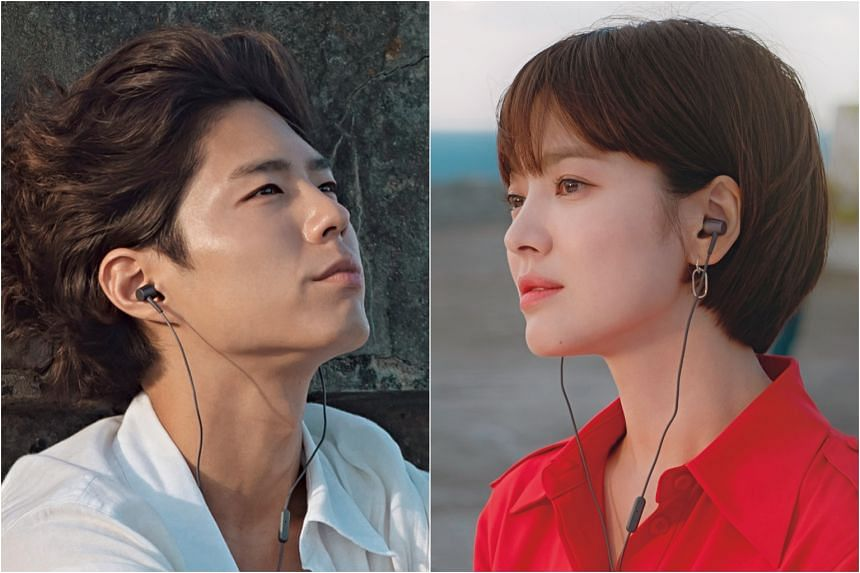 Park Bo-gum (left) and Song Hye-kyo gushed about Cuba, where they were stationed for about a month in September.