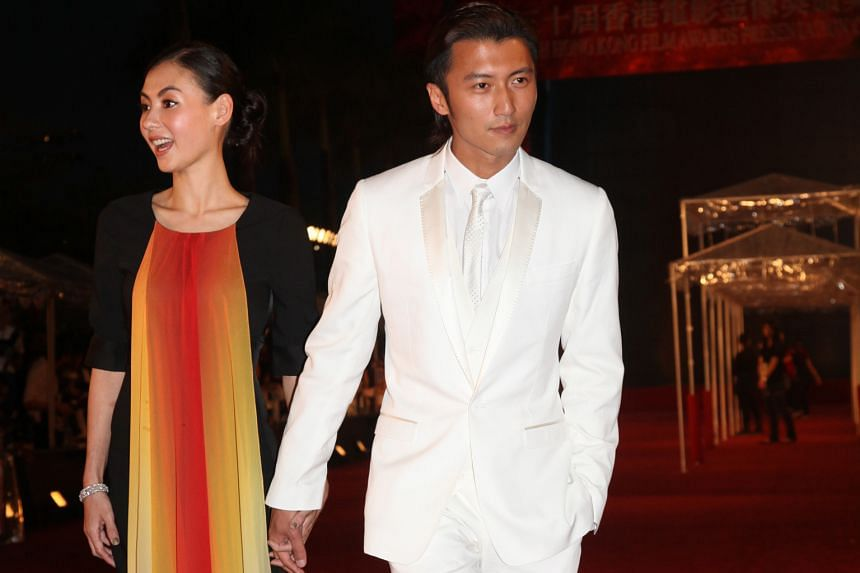 Nicholas Tse and Cecilia Cheung in a file photo. The couple divorced in 2011 after five years of marriage. They have two sons, 11-year-old Lucas and eight-year-old Quintus.