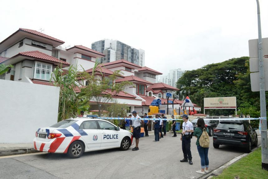 The Agri-food and Veterinary Authority of Singapore, the police and the Society for the Prevention of Cruelty to Animals were involved in the raid.