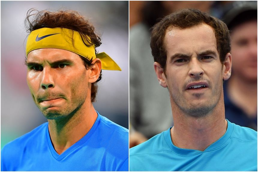 Rafael Nadal and Andy Murray both hope to get their playing back on track at the Brisbane International.