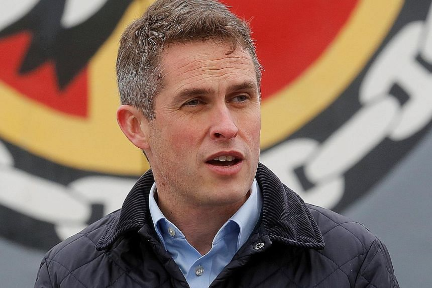 British Defence Secretary Gavin Williamson said Britain seeks two new bases in South-east Asia and the Caribbean in its bid to be a global power post-Brexit.