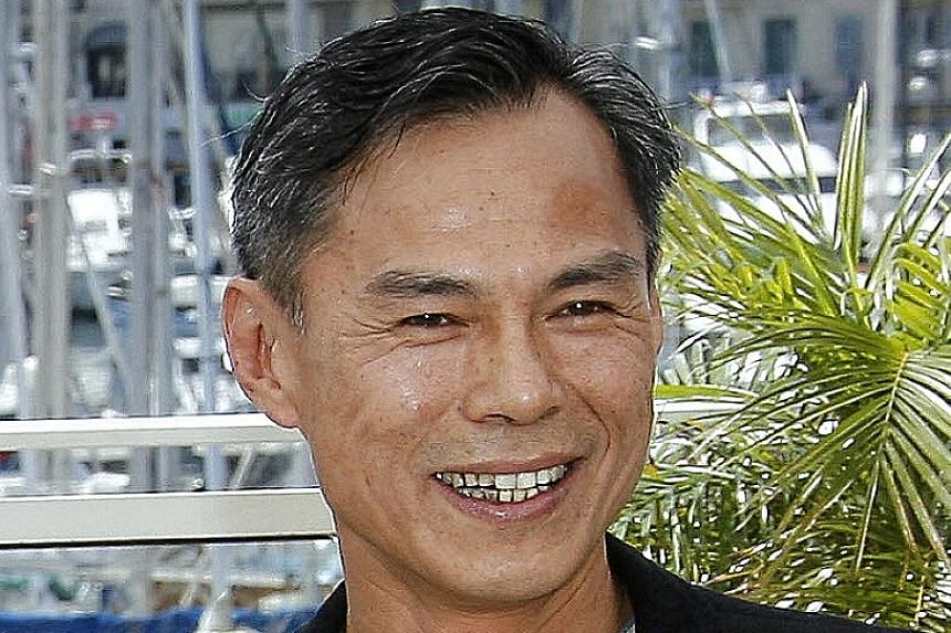 Action director Ringo Lam (left) won the best director prize at the Hong Kong Film Awards for the 1987 film, City On Fire.