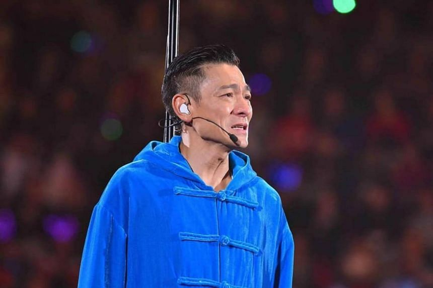 Singer Andy Lau was diagnosed with the flu, and was under doctor's orders to rest until he was fully recovered.