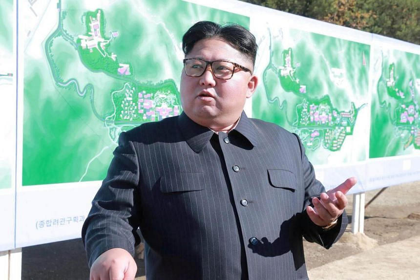 North Korean leader Kim Jong Un's message to US President Donald Trump was delivered last Friday (Dec 28) through an unspecified channel.