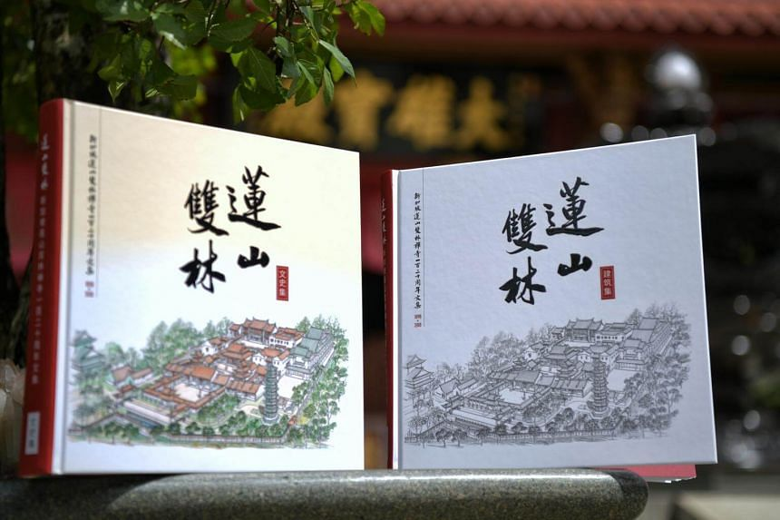 The collection, comprising two volumes which record the cultural as well as the architectural history of the monastery , was penned by an editorial committee of 27 writers.