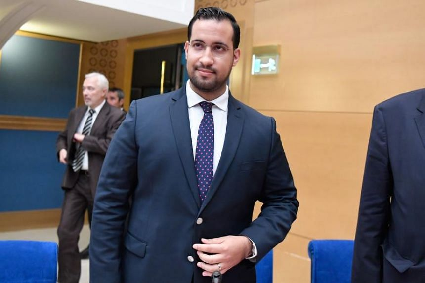 Alexandre Benalla, a former campaign bodyguard who got a senior job following Macron's election victory last year, has been dogged by scandal since July when accusations emerged he had roughed up protestors.