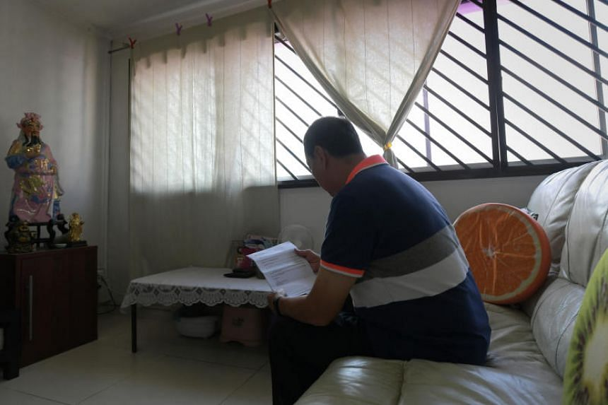 Part-time security guard Tang Lum Sui, 68, a widower who lives alone in his Jalan Bahagia five-room flat, had petitioned his MP several times to have the scheme extended to home owners like him.