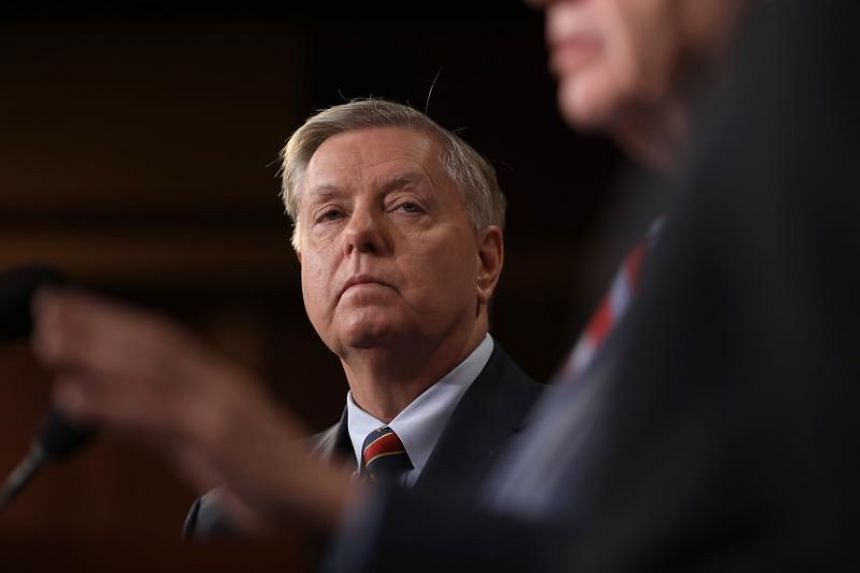 """Senior Republican senator Lindsey Graham said Trump was """"frustrated"""" by the limited options available in Syria."""