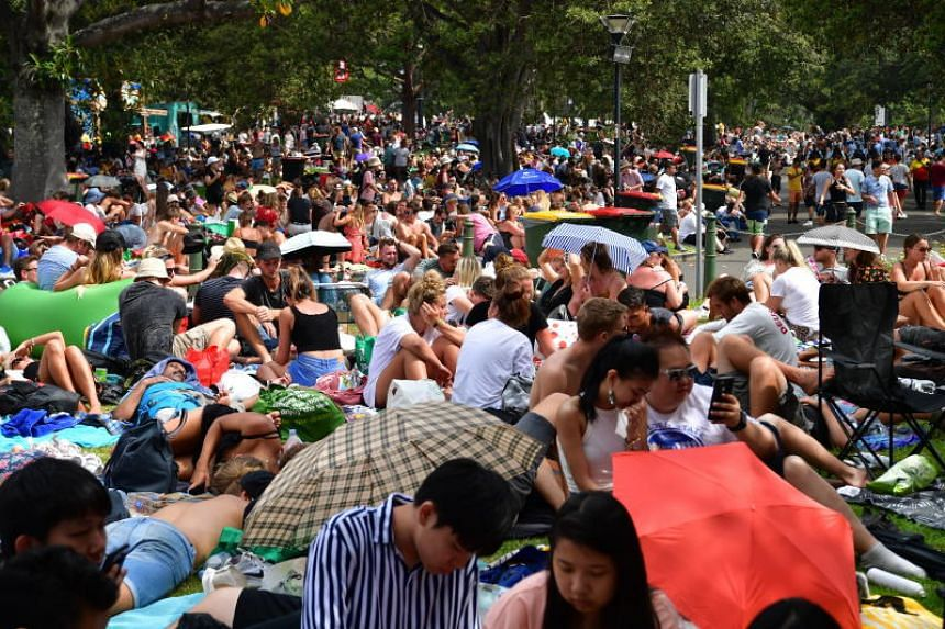 More than 1.5 million spectators are expected to crowd foreshores and parks.