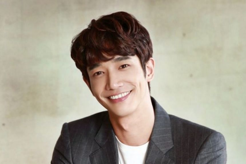 Jasper Liu (above) de-stresses from work by finding a quiet spot, closing his eyes and imagining plenty of light. He stars in More Than Blue with Ivy Chen.
