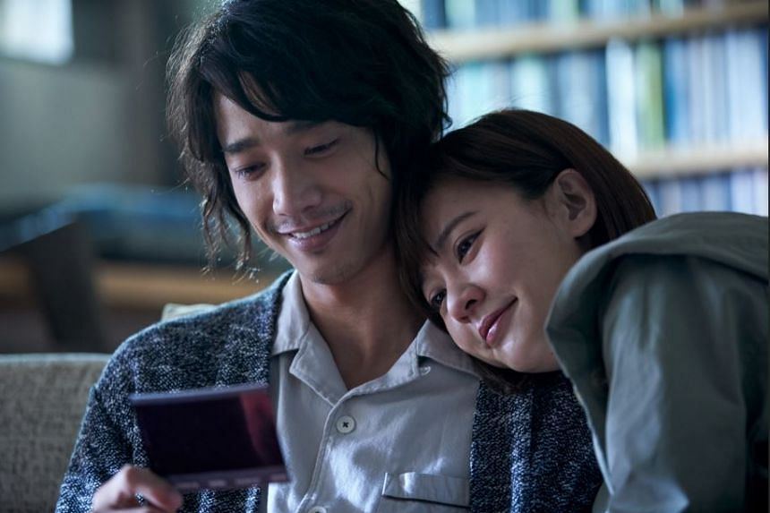 Jasper Liu de-stresses from work by finding a quiet spot, closing his eyes and imagining plenty of light. He stars in More Than Blue with Ivy Chen (right).