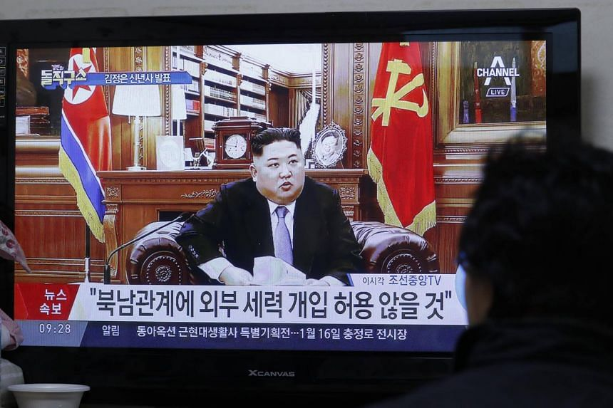 In his New Year address, Kim Jong Un said there would be faster progress on denuclearisation if the United States takes corresponding action.