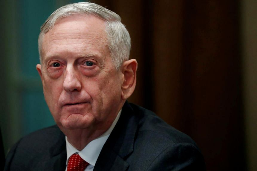 The now former defence secretary Jim Mattis departed without any of the typical pageantry, such as a farewell ceremony attended by the US President.
