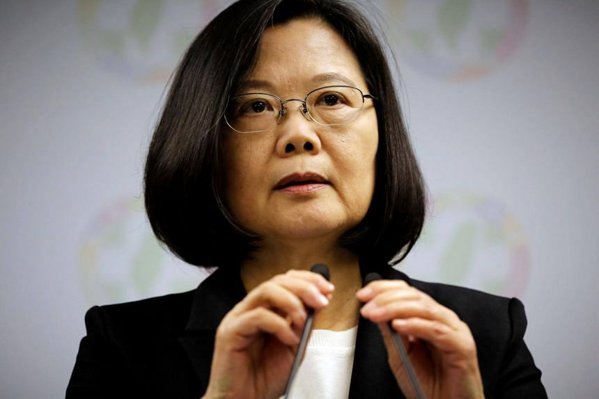 Taiwan President Tsai Ing-wen said the two sides of the Taiwan Strait needed a pragmatic understanding of the basic differences that exist between them in terms of values and political systems.