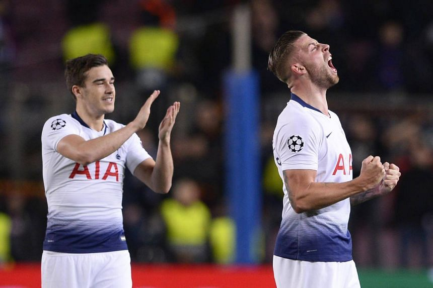 """Harry Winks urged his teammates """"not to get carried away with a defeat"""" before their visit to a rejuvenated Cardiff today."""