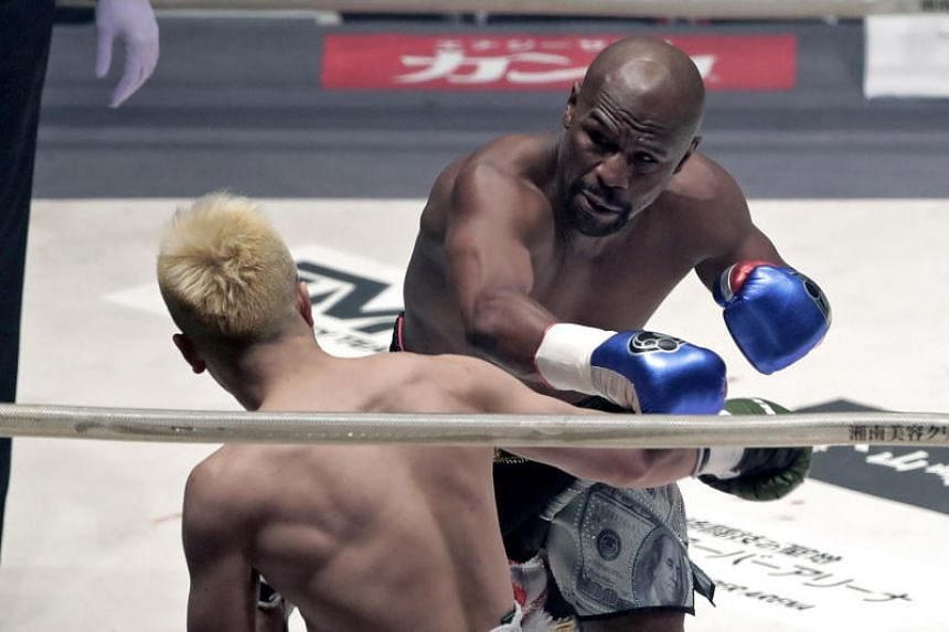 Floyd Mayweather's New Year's Eve demolition of Tenshin Nasukawa