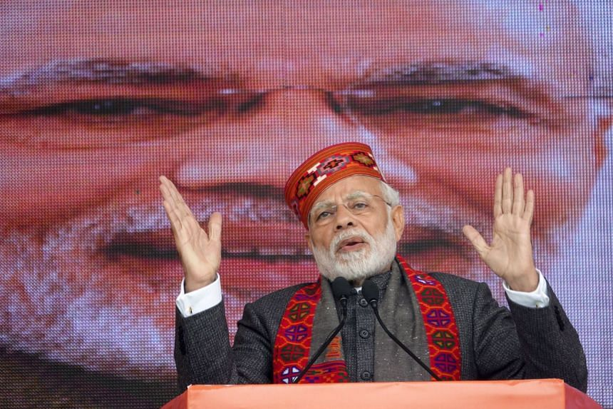 Indian Prime Minister Narendra Modi's Bharatiya Janata Party lost power in three key states in December 2018, handing Mr Modi his biggest defeat since he took office in 2014.
