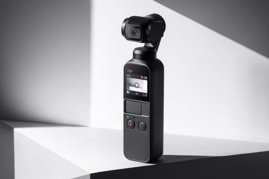 The DJI Osmo Pocket camera is a portable gimbal camera that is capable of great stable videos and stills.