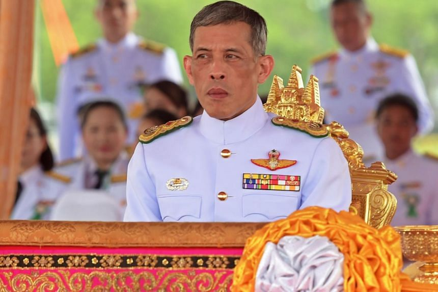 A file photo of Thai Crown Prince Maha Vajiralongkorn in Bangkok in May 2015. The palace announced an elaborate coronation ceremony for him would be held in May 2019.