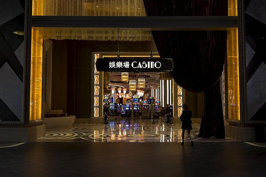 A casino at Studio City resort in Macau. December was the 29th straight month in which revenue in China's only legal gambling hub rose, versus the same month a year prior, according to data released yesterday by the Gaming Inspection and Coordination