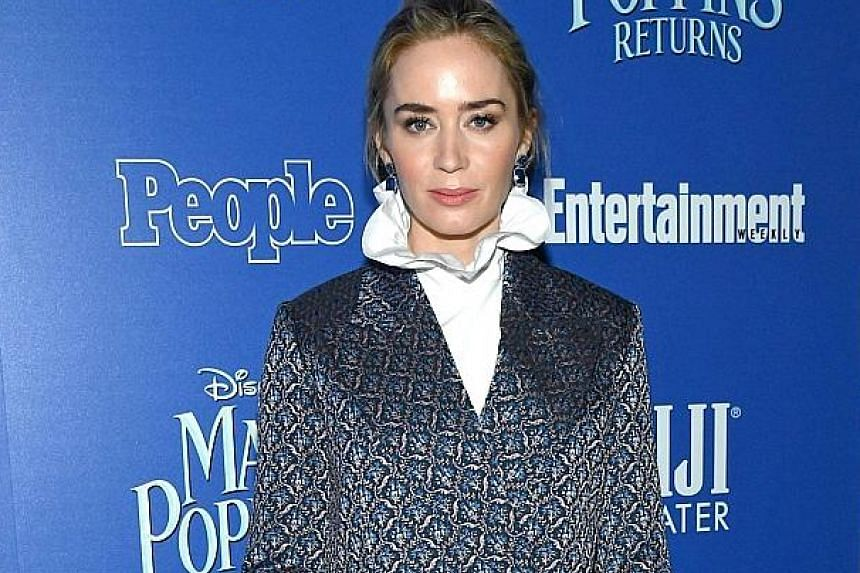 Emily Blunt has a good box-office record with movies such as Mary Poppins Returns and A Quiet Place.