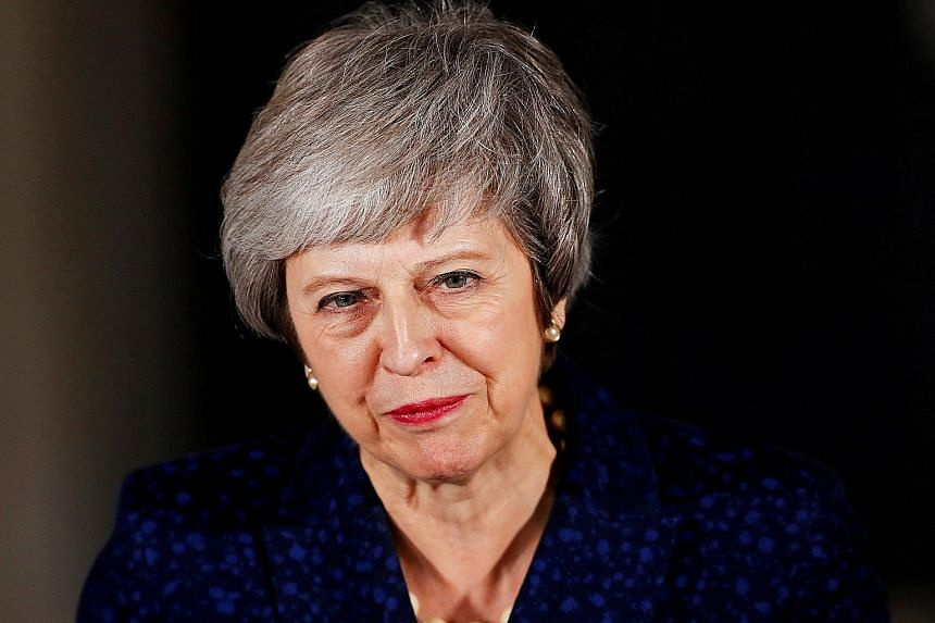 British Prime Minister Theresa May says Britain will start a new chapter once her Brexit deal gets the nod from Parliament.