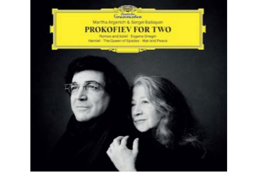 The hour-long album by Argentine piano legend Martha Argerich and Russian composer Sergei Prokofiev is the latest in a long illustrious line of piano duo partners.