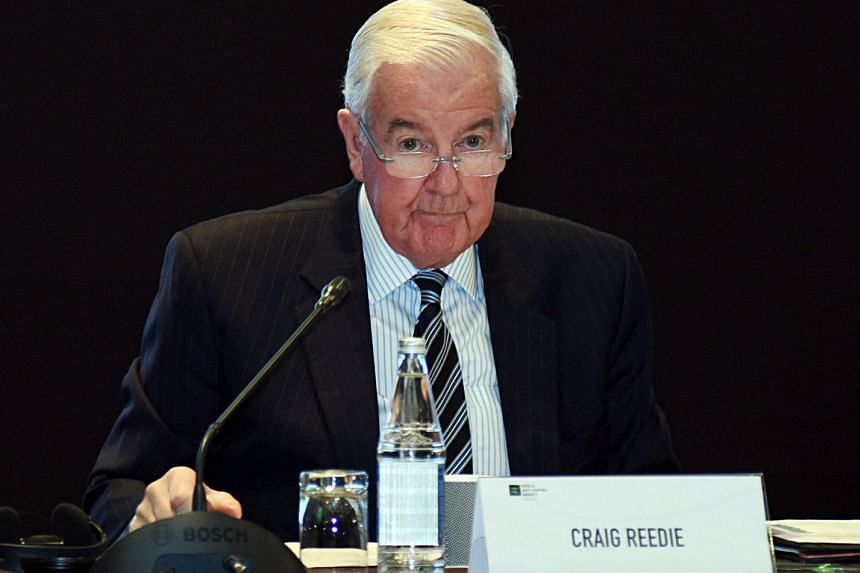 "Wada president Craig Reedie (above) said he was ""bitterly disappointed""."