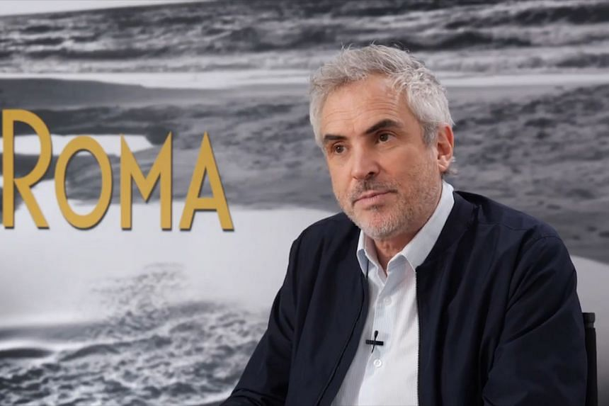 Alfonso Cuaron was in Singapore last month to promote his movie, Roma.