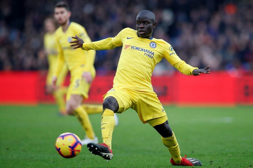 Chelsea's N'Golo Kante has sometimes looked out of sorts in his different position this season, but he showed signs of getting to grips with it, scoring the winner at Crystal Palace with a well-timed run and cool finish.