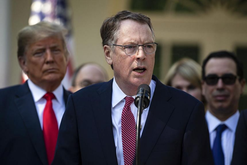 Mr Robert Lighthizer, the United States trade representative, has played down any differences with President Trump and views his role as ultimately executing the directive of his boss.