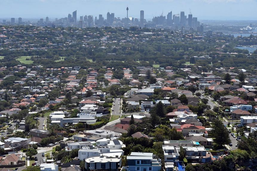 Property values across the country fell for the 15th consecutive month in December, with the rate of decline in Sydney and Melbourne - the two largest markets - worsening over the year.