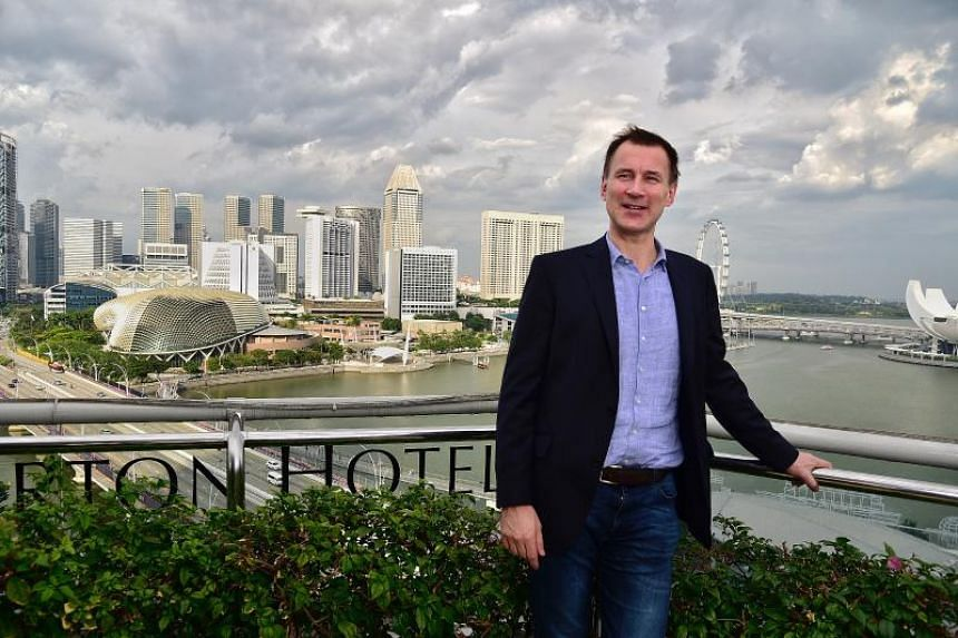 Britain's foreign secretary Jeremy Hunt noted that Singapore's real gross domestic product per capita has multiplied 15 times since its independence.