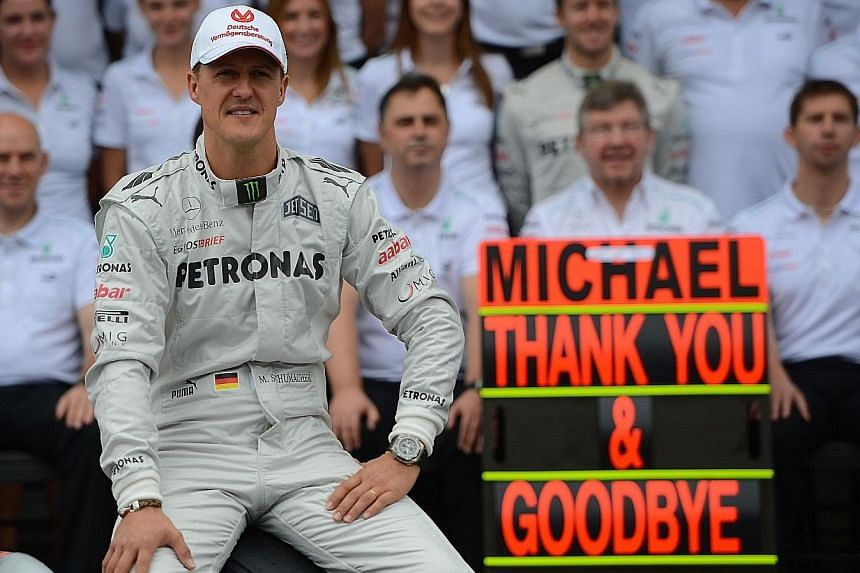 The Schumacher family: Michael is in the very best of hands