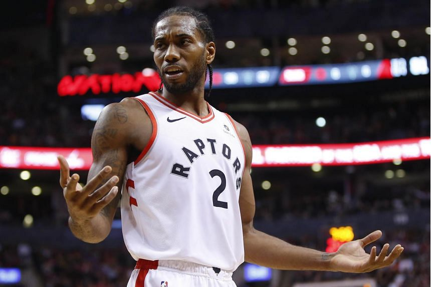 Kawhi Leonard, who is averaging 27.3 points this season, was a two-time NBA Defensive Player of the Year and also won NBA Finals MVP in 2014 during his seven seasons with the team.